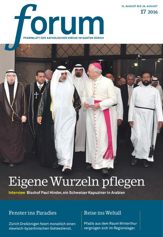 Forum Pfarrblatt Ausgabe 17/2016