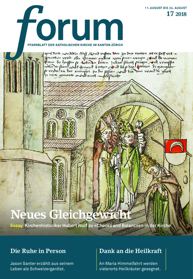 Forum Pfarrblatt Ausgabe 17/2021