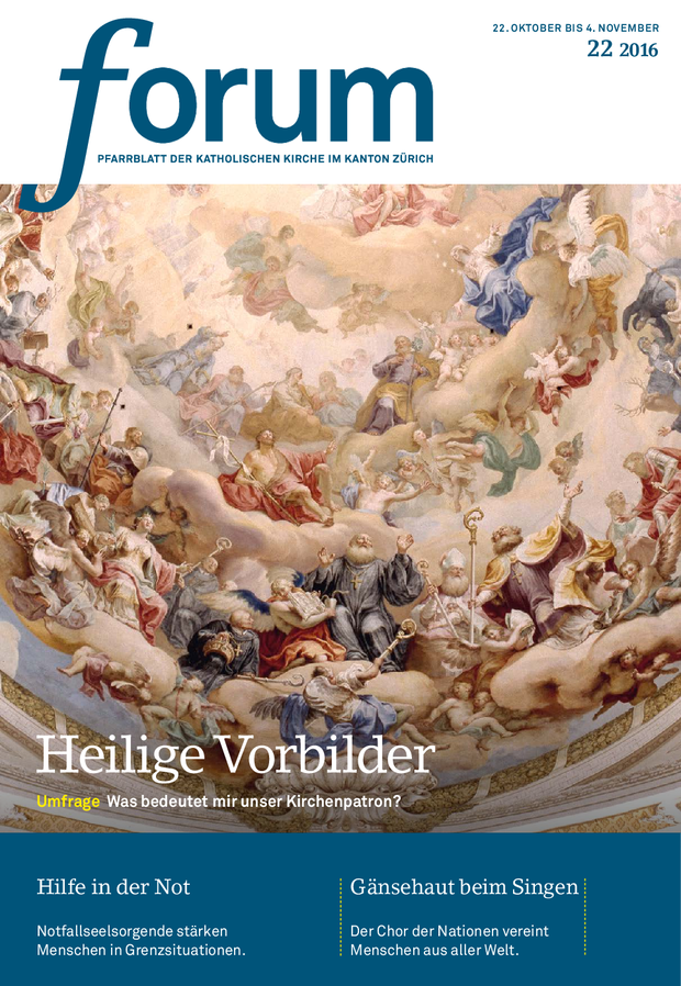 Forum Pfarrblatt Ausgabe 22/2016