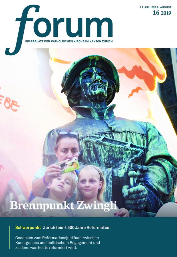 Forum Pfarrblatt Ausgabe 16/2019