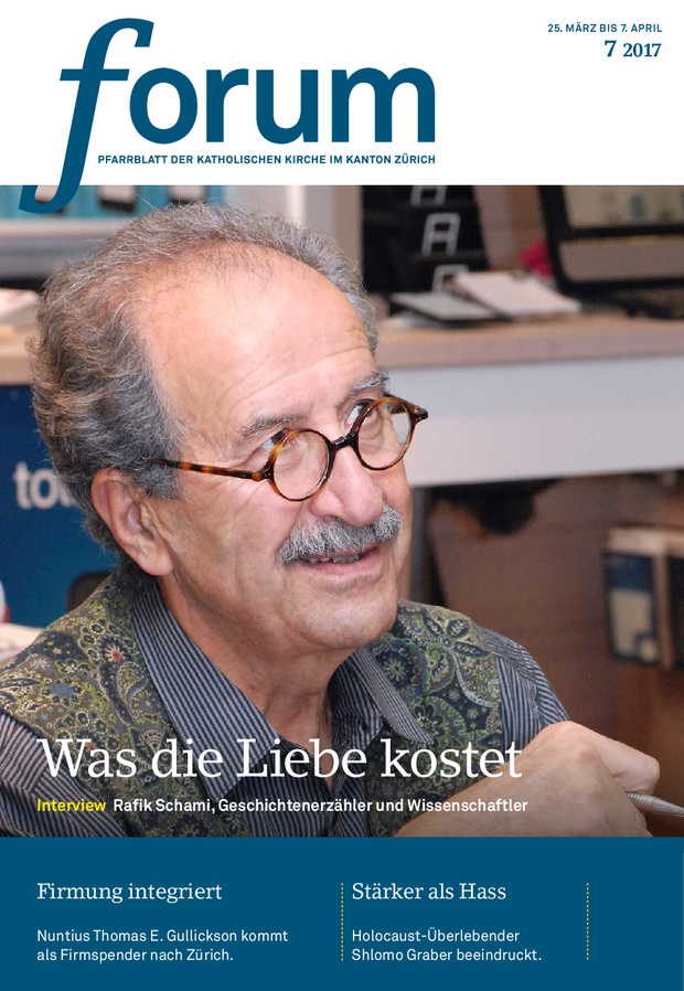Forum Pfarrblatt Ausgabe 07/2017