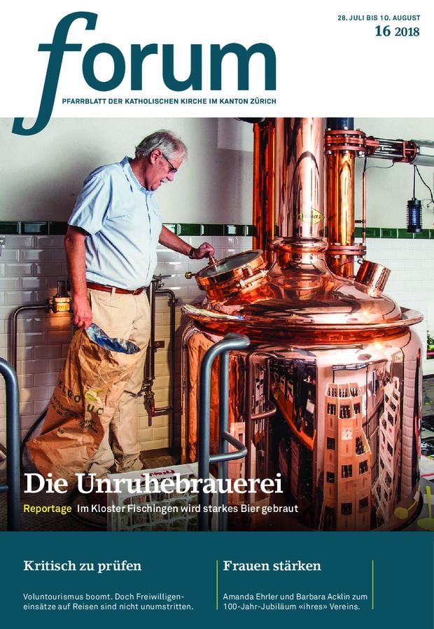 Forum Pfarrblatt Ausgabe 16/2018