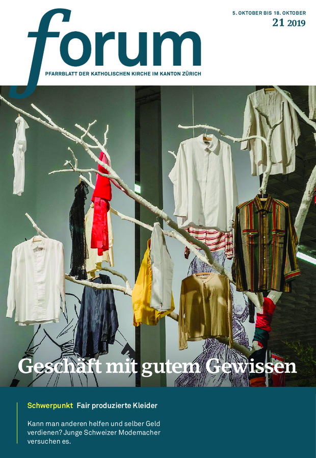 Forum Pfarrblatt Ausgabe 21/2019