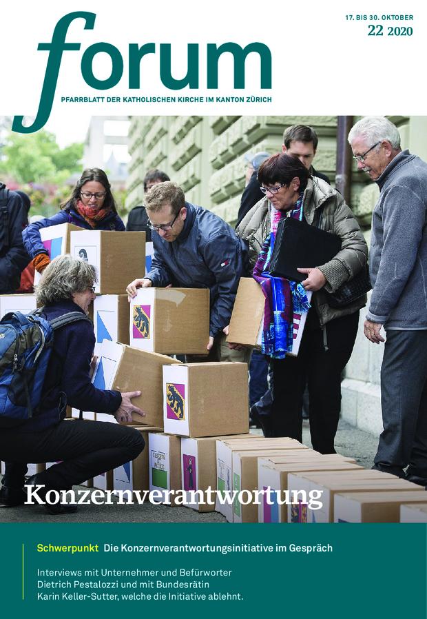 Forum Pfarrblatt Ausgabe 22/2020