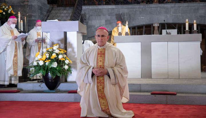 Die Bischofsweihe in Bildern