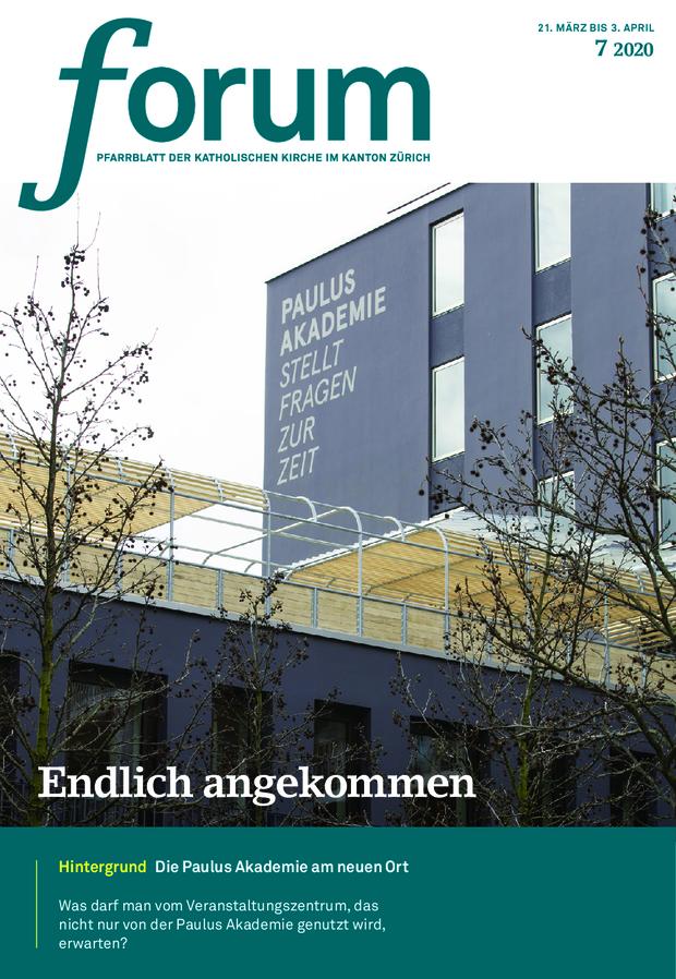 Forum Pfarrblatt Ausgabe 07/2020