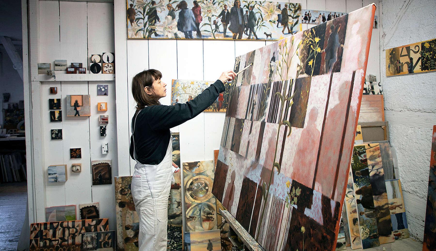 «Die Malerei ist mein Glück»