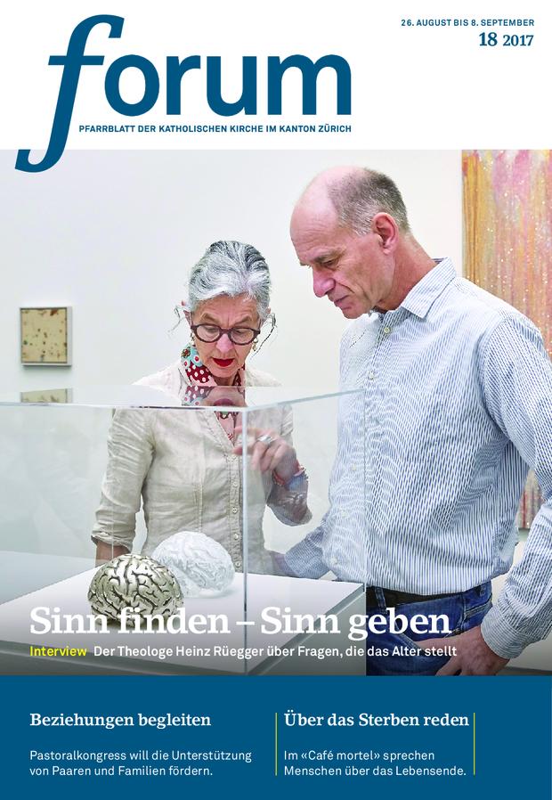 Forum Pfarrblatt Ausgabe 18/2017