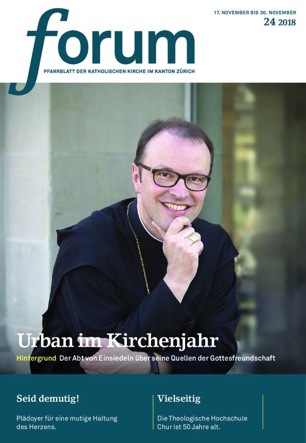 Forum Pfarrblatt Ausgabe 24/2018