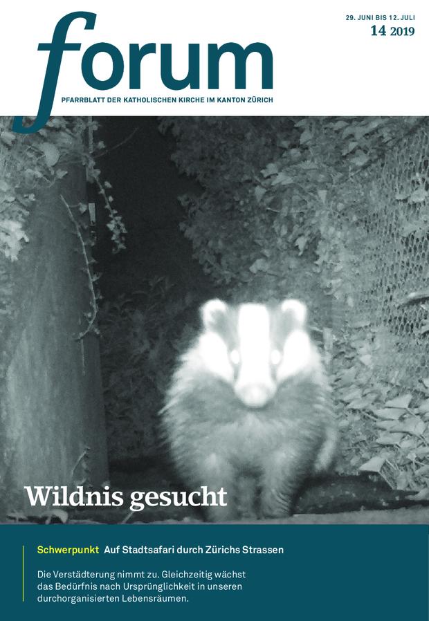 Forum Pfarrblatt Ausgabe 14/2019