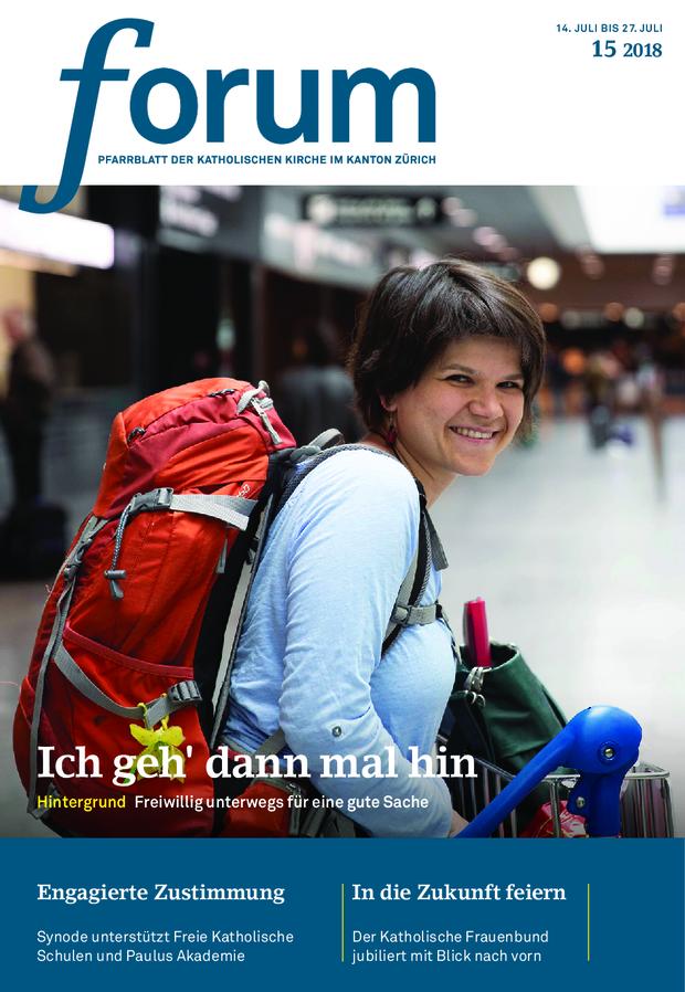 Forum Pfarrblatt Ausgabe 15/2018