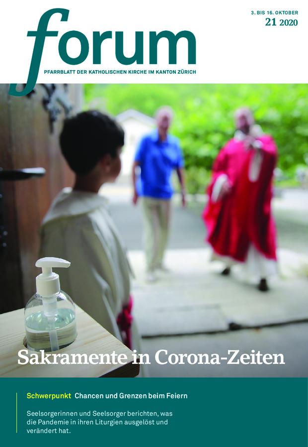 Forum Pfarrblatt Ausgabe 21/2020