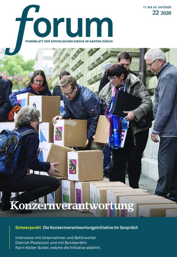 Forum Pfarrblatt Ausgabe 22/2021