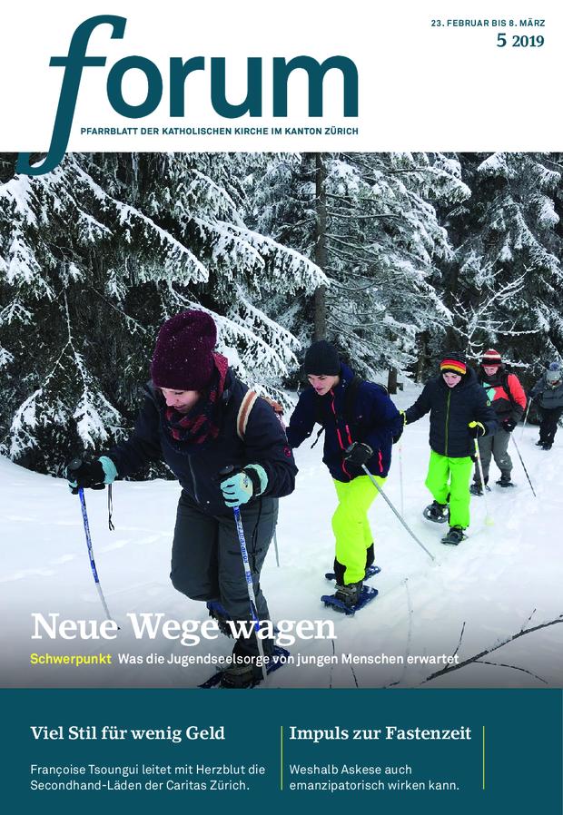 Forum Pfarrblatt Ausgabe 05/2019