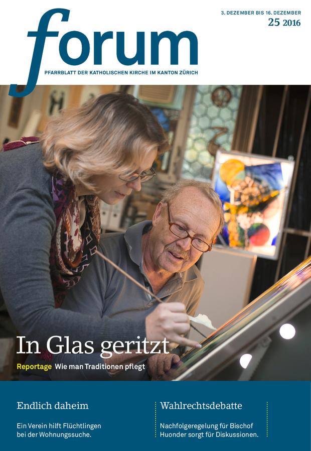 Forum Pfarrblatt Ausgabe 25/2016