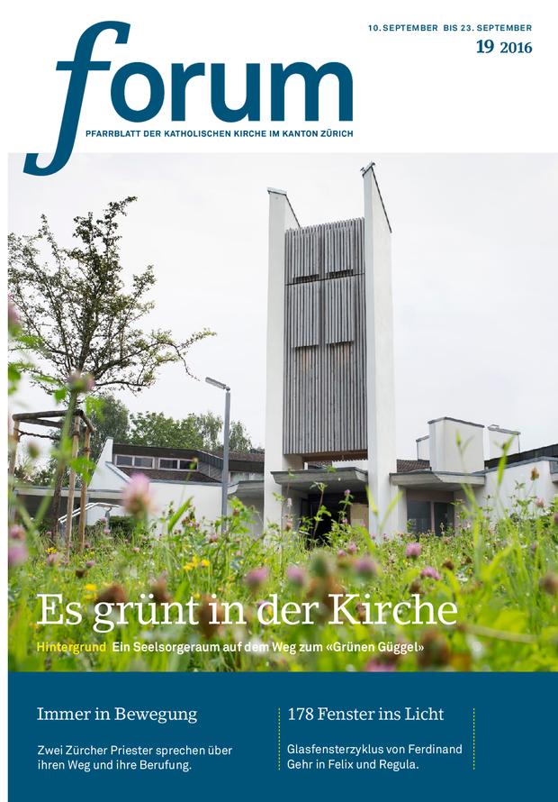 Forum Pfarrblatt Ausgabe 19/2016
