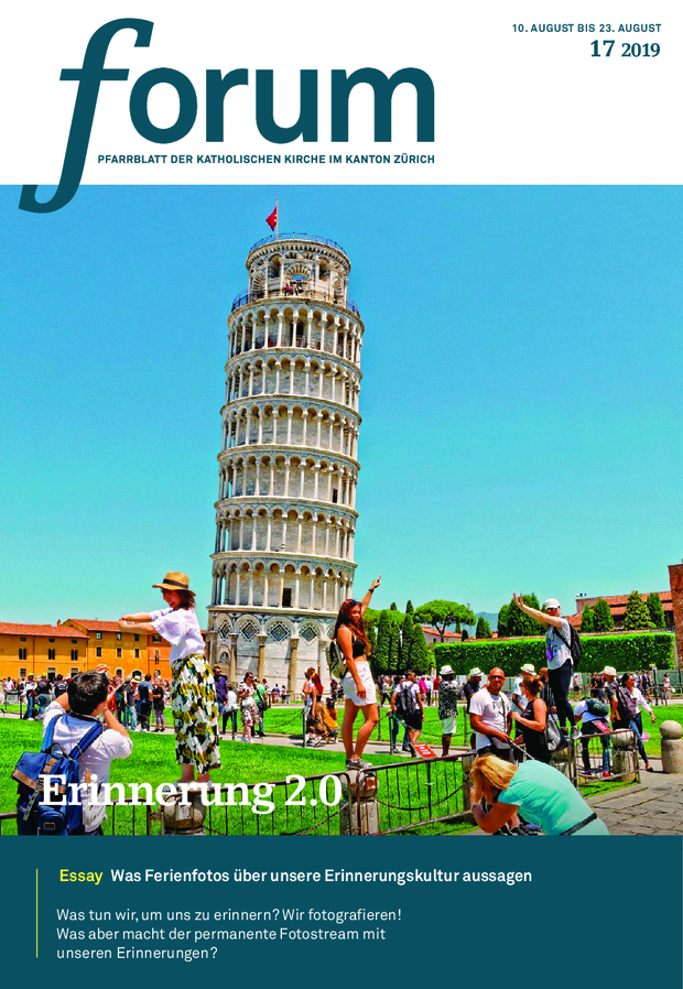 Forum Pfarrblatt Ausgabe 17/2019