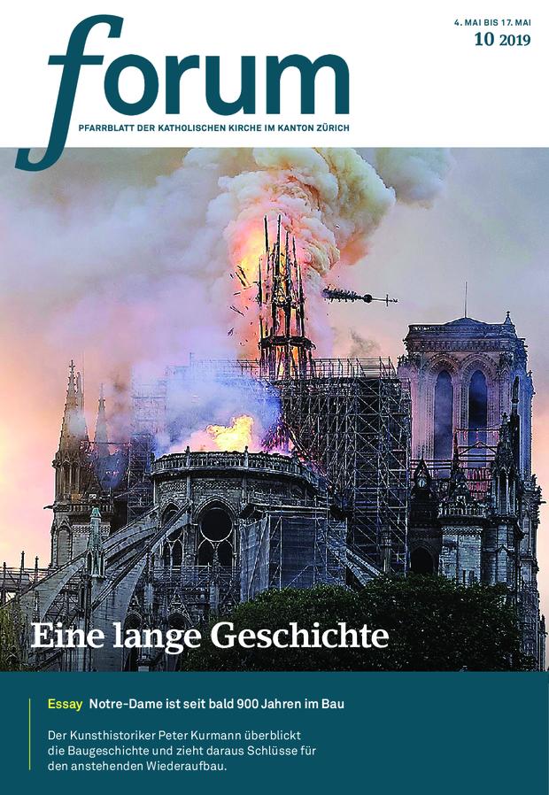 Forum Pfarrblatt Ausgabe 10/2019