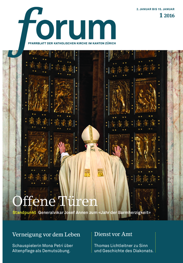 Forum Pfarrblatt Ausgabe 01/2016
