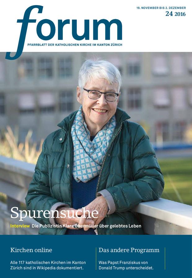 Forum Pfarrblatt Ausgabe 24/2016