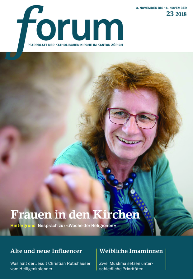 Forum Pfarrblatt Ausgabe 23/2018