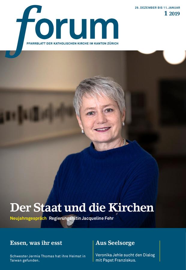 Forum Pfarrblatt Ausgabe 01/2019