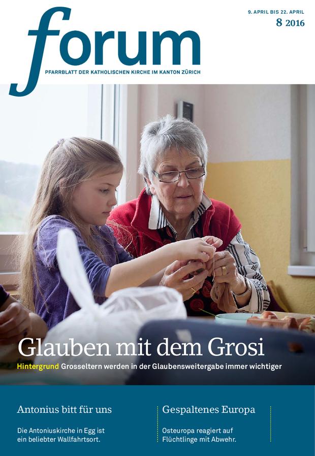 Forum Pfarrblatt Ausgabe 08/2016