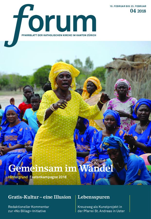 Forum Pfarrblatt Ausgabe 04/2021