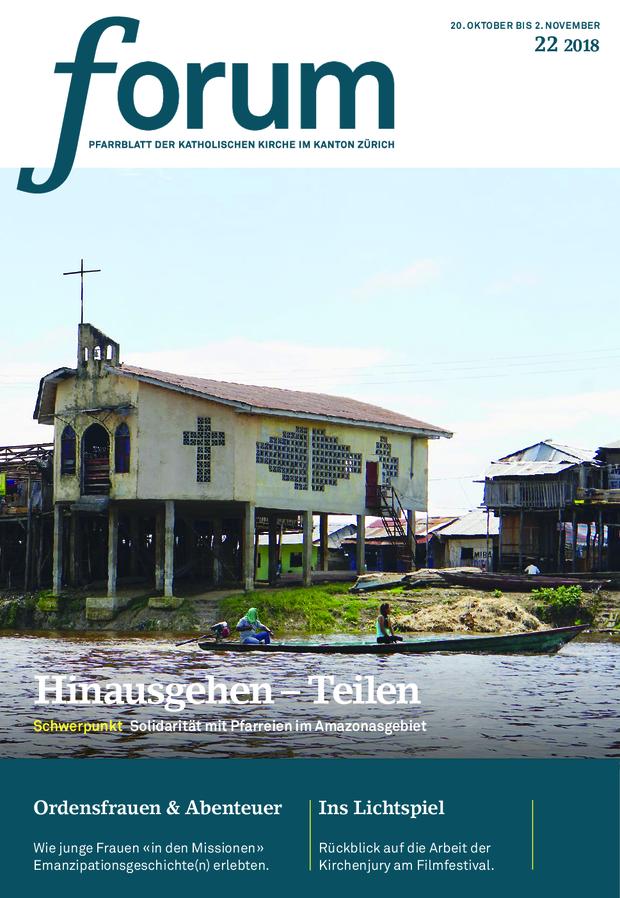 Forum Pfarrblatt Ausgabe 22/2018