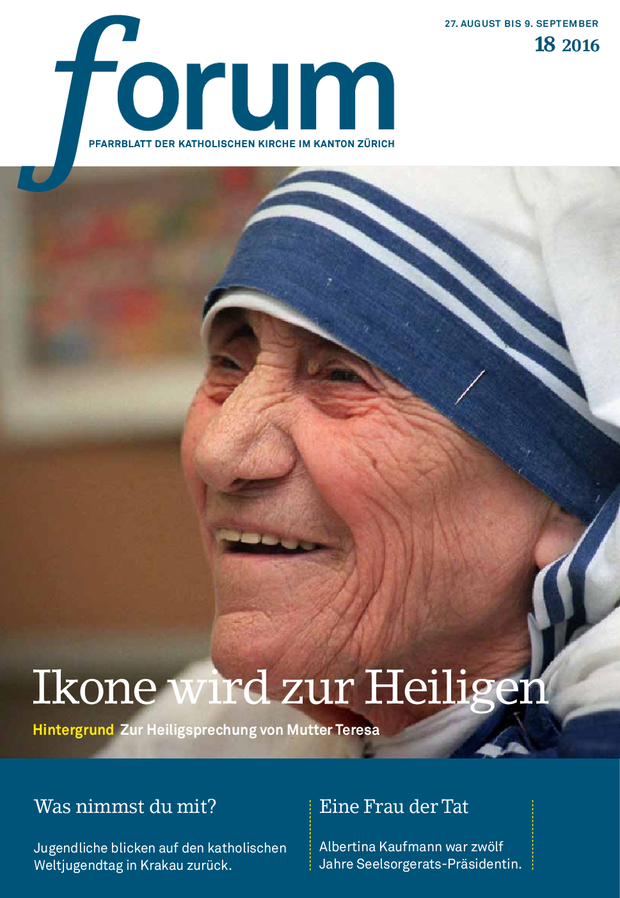 Forum Pfarrblatt Ausgabe 18/2016