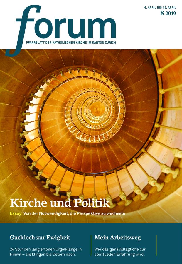 Forum Pfarrblatt Ausgabe 08/2019