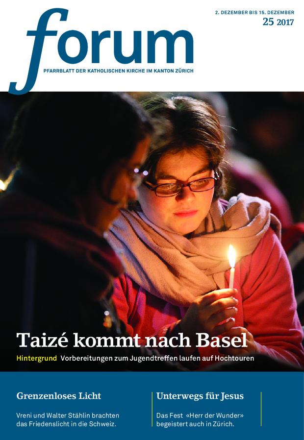 Forum Pfarrblatt Ausgabe 25/2021