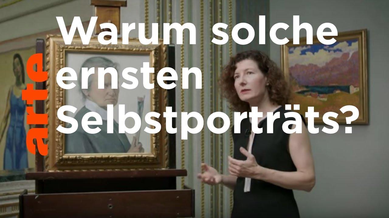 Ottilie W. Roederstein – Selbstbildnis mit Pinseln | Allein im Museum | ARTE