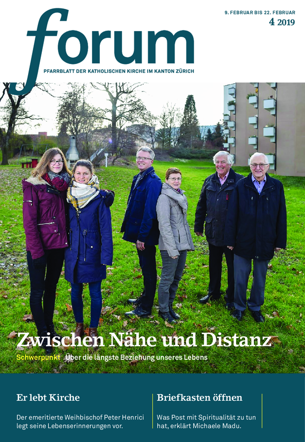 Forum Pfarrblatt Ausgabe 04/2019
