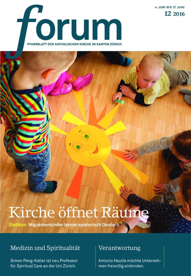 Forum Pfarrblatt Ausgabe 12/2016