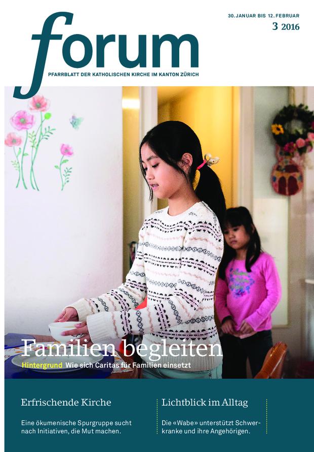 Forum Pfarrblatt Ausgabe 03/2016
