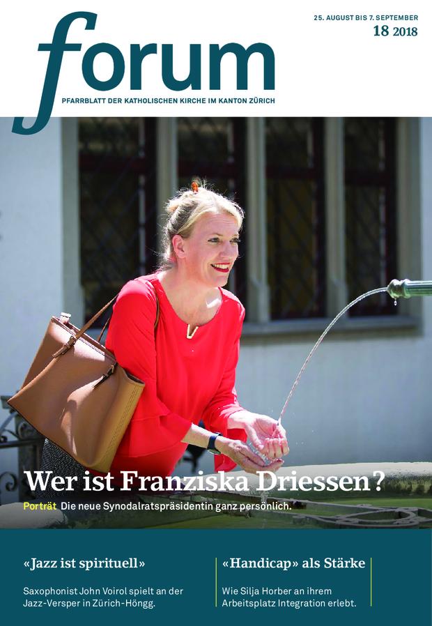 Forum Pfarrblatt Ausgabe 18/2018