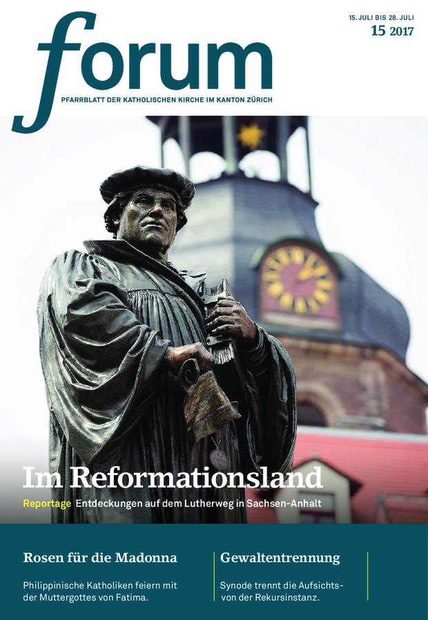 Forum Pfarrblatt Ausgabe 15/2017