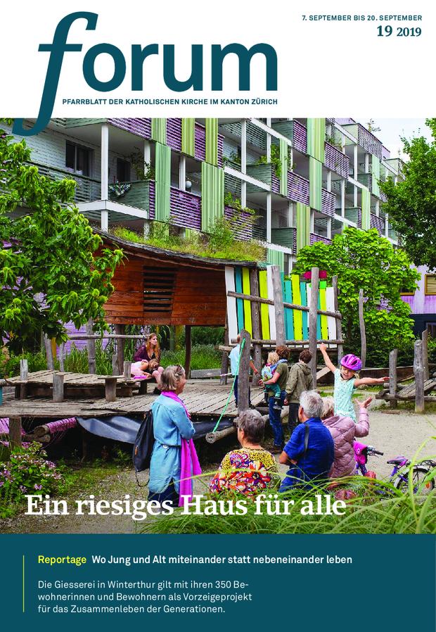 Forum Pfarrblatt Ausgabe 19/2019
