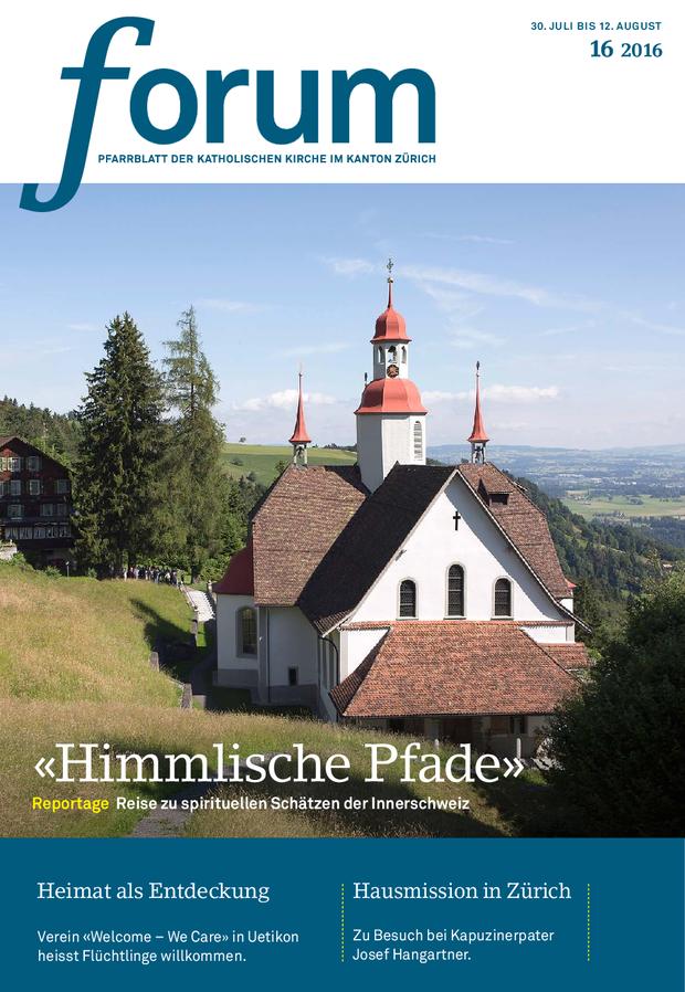 Forum Pfarrblatt Ausgabe 16/2016