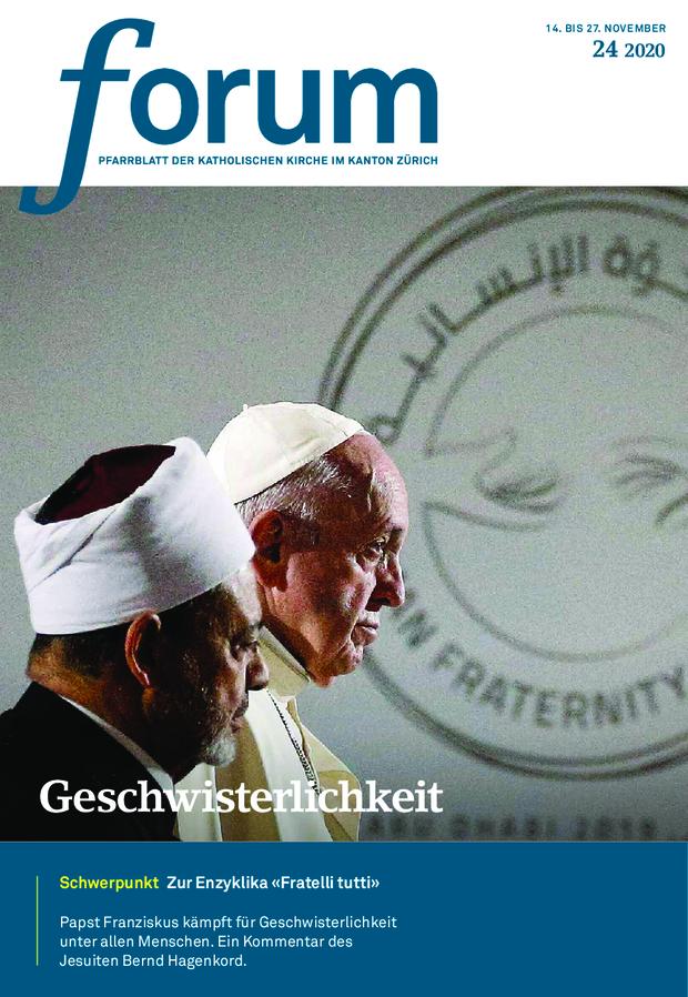 Forum Pfarrblatt Ausgabe 24/2020