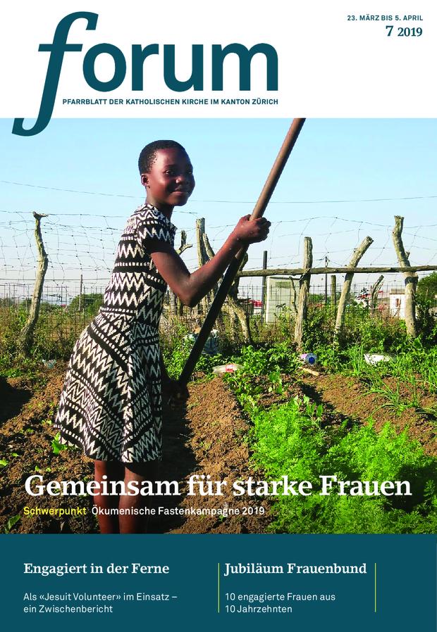 Forum Pfarrblatt Ausgabe 07/2019