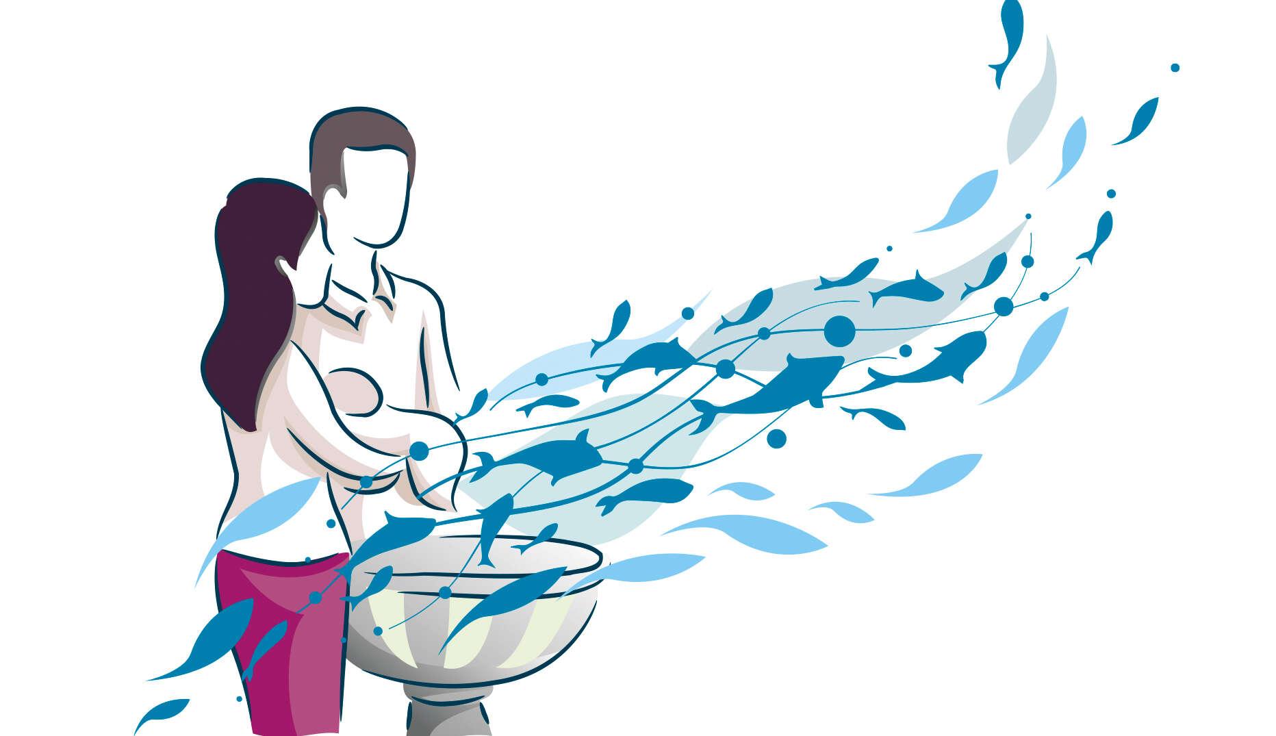 Abtauchen in die Taufe