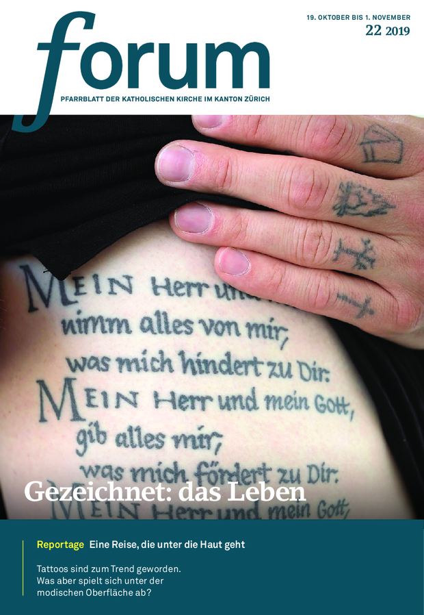 Forum Pfarrblatt Ausgabe 22/2019