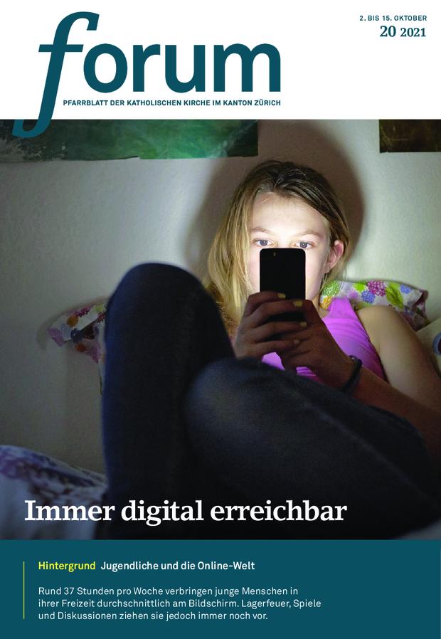 Forum Pfarrblatt Ausgabe 20/2021