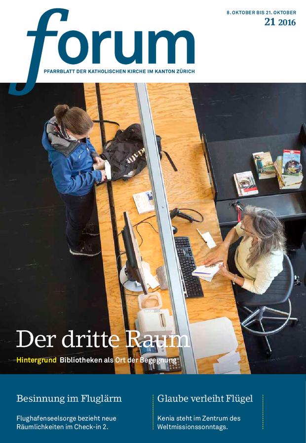 Forum Pfarrblatt Ausgabe 21/2016