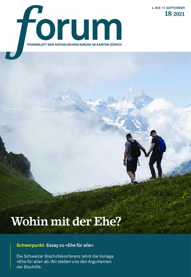 Forum Pfarrblatt Ausgabe 18/2021